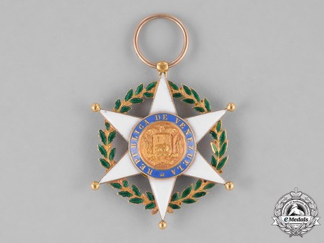 Order of Merit, II Class Grand Officer Obverse
