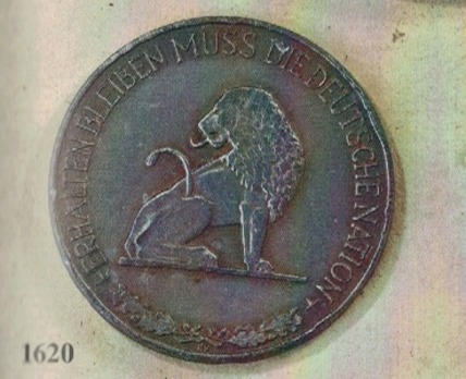 Air District Plaque of Field Air District Command Belgium-Northern France (2nd pattern) Obverse