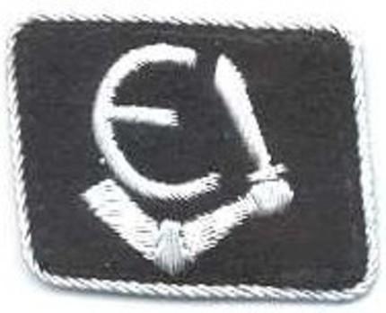 Waffen-SS Estonian Division Officer Collar Tab Obverse