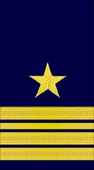 Kriegsmarine Fregattenkapitän Sleeve Stripes Obverse
