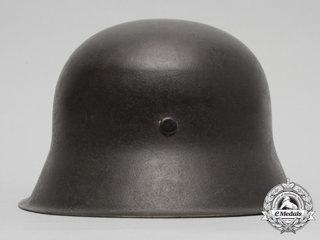 Waffen-SS Single Decal Steel Helmet M42 Back