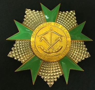 National Order of Benin, Grand Cross Breast Star (1991-)