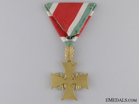 Long Service Decorations for Officers, I Class Reverse