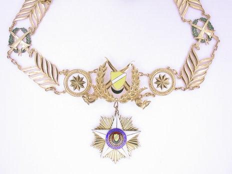 Royal Family Order of Kedah, Collar