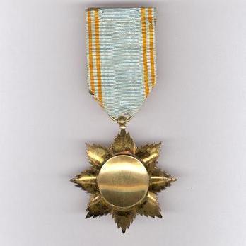 Order of the Star of Anjouan, Officer Reverse