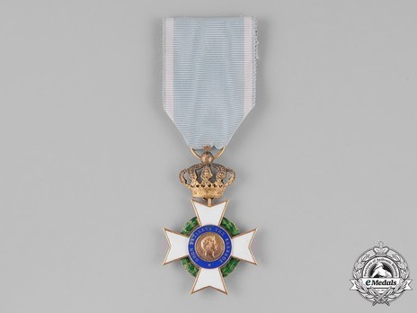 Order of the Redeemer, Type I, Knight's Cross, in Gold Obverse