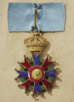 Imperial and Military Order of St Faustin, Commander Cross