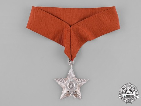Order of the Gorkha Dakshina Bahu, IV Class Obverse