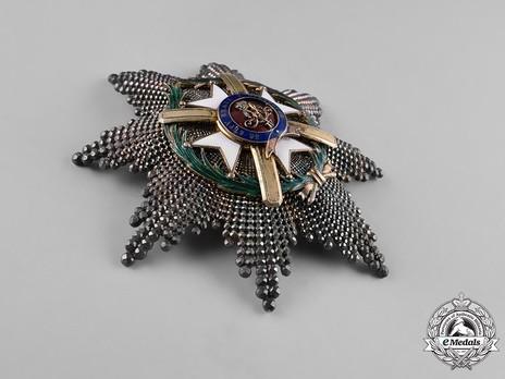 Order of the Cross of Takovo, Civil Division, I Class Breast Star Obverse