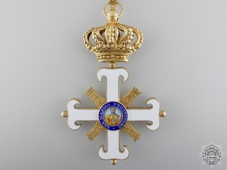 Order of San Marino, Type II, Commander Obverse