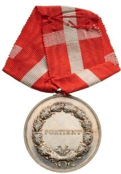 "Silver Medal (stamped ""LINDAHL"") Reverse"
