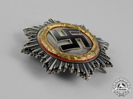German Cross, in Gold, by C. E. Juncker (Model 2, unmarked, tombac) Obverse