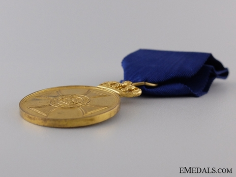 Gold Medal, Type II, in Bronze gilt (with solid crown 1916-1918)