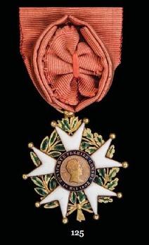 Order of the Legion of Honour, Type V, Officer