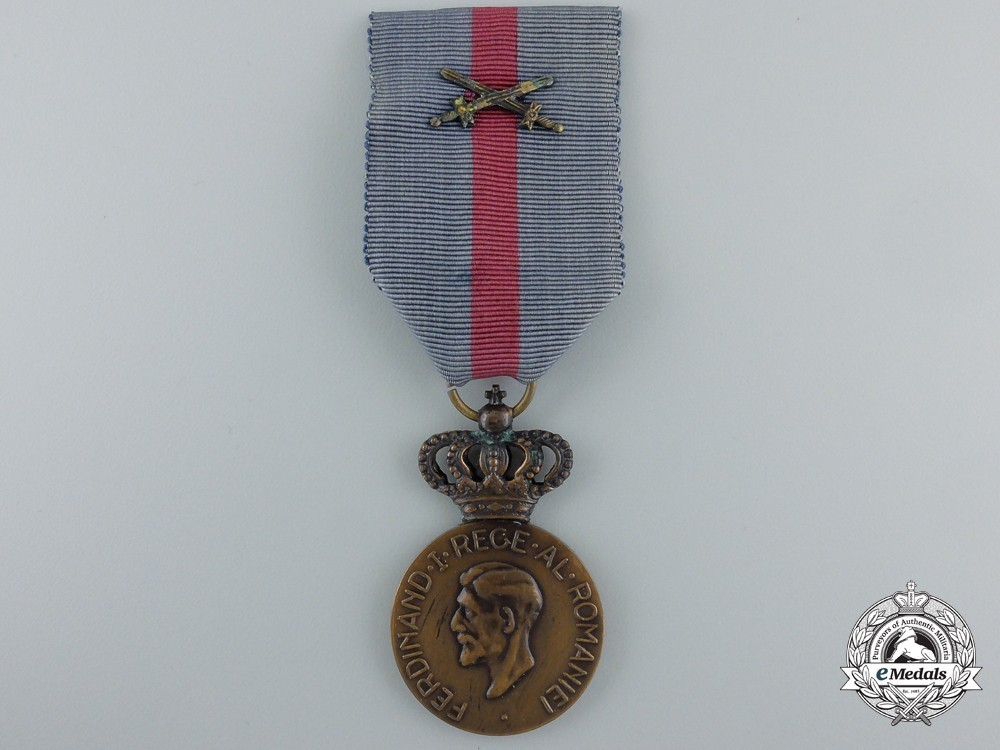 Commemorative+medal+of+ferdinand+i+%28with+swords+clasp%29+1