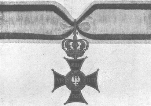 Order of Virtuti Militari, Type II, Commander (1921-1939) Obverse