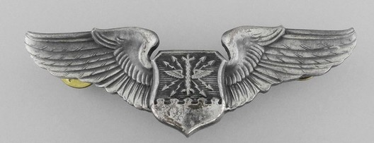 Basic Wings (with silvered metal) Obverse