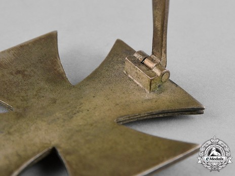 Iron Cross I Class, by Steinhauer & Lück (4, Type A) Detail