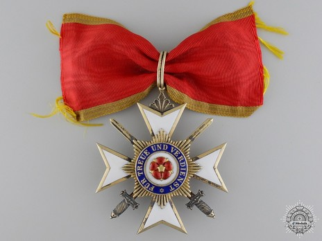 II Class Cross with Swords (in silver gilt) Obverse