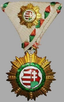 Order of Kossuth, Small I Class Obverse