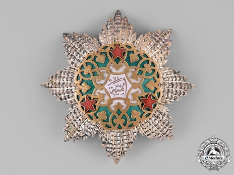 I Class Grand Cordon Breast Star Obverse