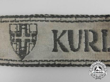 Kurland Cuff Title Obverse Detail