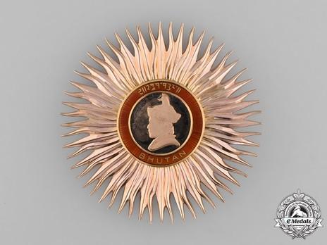 Royal Order of Bhutan, I Class Breast Star