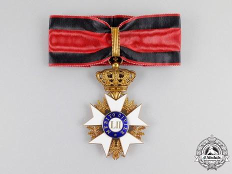 Order of Civil Merit, Commander Obverse