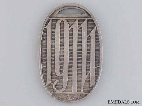 War Medal for Hungarian Volunteers in Silver Reverse