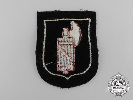 Waffen-SS Italian Volunteer Arm Shield Reverse