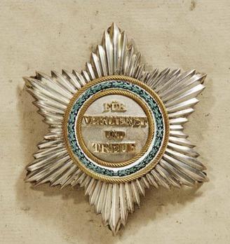 Order of Merit, Type I, Civil Division, Grand Cross Breast Star (for Natives, in gold)