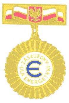 Decoration for Merit in the Energy Industry (1998-2001) Obverse