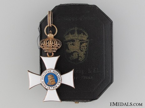 I Class Knight's Cross Case of Issue Obverse