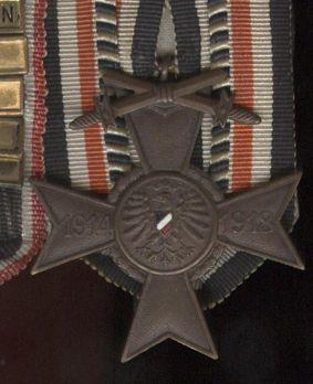 War Cross (Ehrenbund German World War I) Obverse