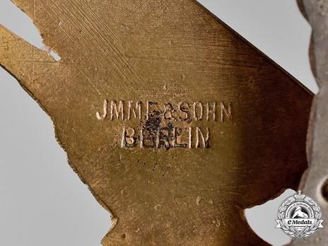 Luftwaffe Paratrooper Badge, by Jmme Detail