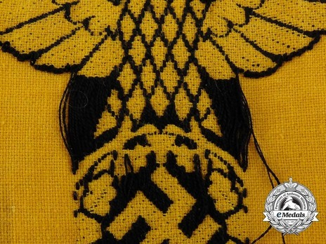 German Army Non-member of the Armed Forces Armband Inside Out