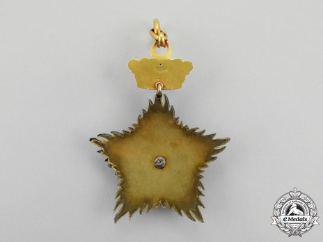Order of the Crown of Johor, Knight Commander Reverse