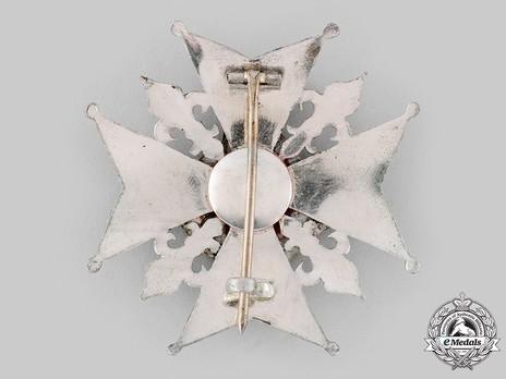 Order of Saint Januarius, Knight's Breast Star Reverse