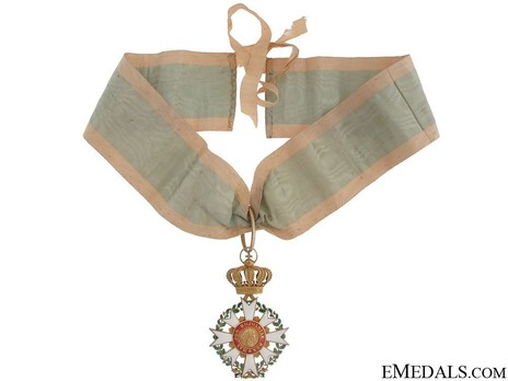 Merit Order of the Bavarian Crown, Commander (in silver) Reverse