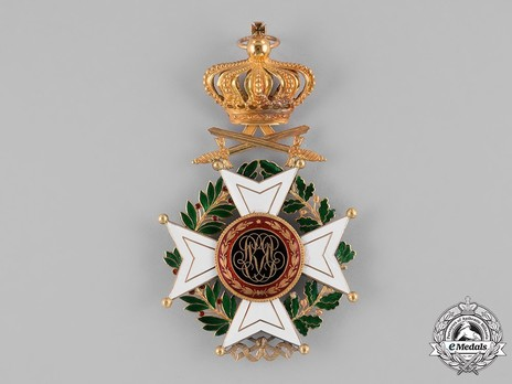 Grand Cross (Military Division, 1832-1951) Reverse