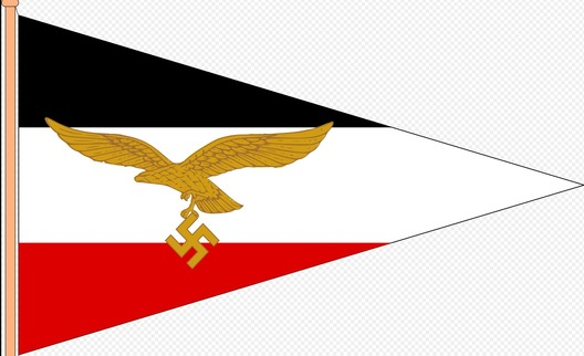 Luftwaffe Vehicle Pennant for High Air Commanders Obverse