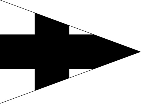 German Army Staff Flag for Battalions (Infantry version) Obverse