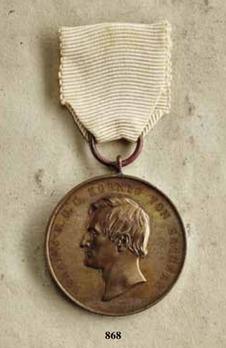 "Life Saving Medal, Type III, in Bronze (stamped ""C.ULBRICHT FEC."")"