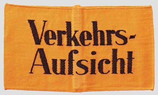 German Army Traffic Control Battalion Armband Obverse
