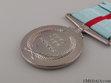 Campaign Medal for United Nations operations in Congo Reverse