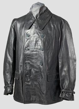 Kriegsmarine Leather Jacket (Double-Breasted version) Obverse