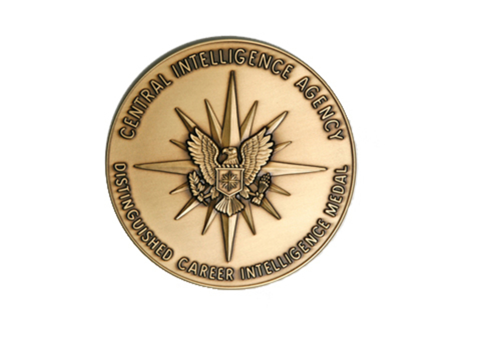 Distinguished career intelligence medal of the cia