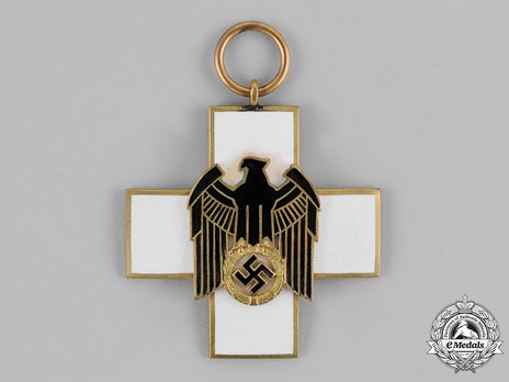 German Social Welfare Decoration, III Class Cross Obverse