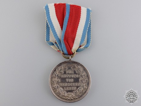 General Honour Decoration for Life Saving (for life saving) Reverse