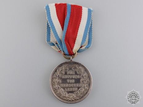 General Honour Decoration for Life Saving (for life saving) Reverse